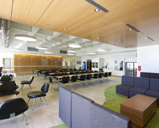 A LEED-CI certification for Revenu Québec's new offices